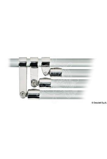 Fork joints for 3-arc frame