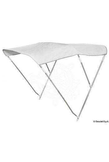 3-arch folding bimini, tall version