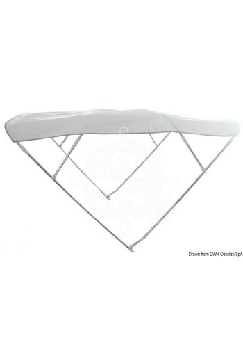 BIMINI DEPTH 4-arch sunshade