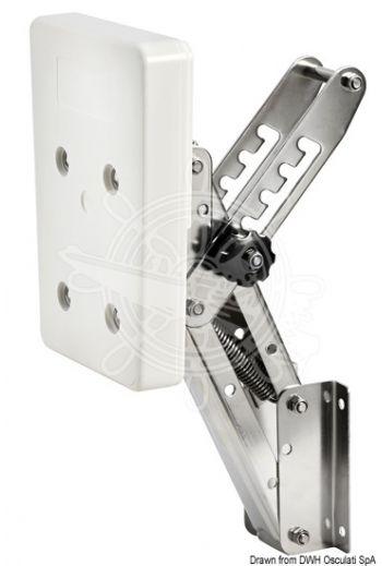 Adjustable Outboard Motor Bracket