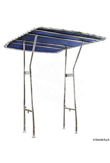 Stainless steel T-top