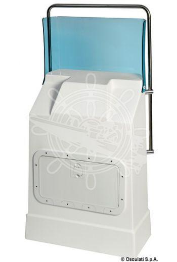 "Bridge 2 steering console (Type: ""Bridge 2"", Length: 73 cm, Depth: 44 cm, Height (without windscreen): 104 cm)"