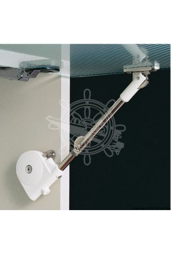 Soft Down Stay (For door: 90° opening, Mounting plate: Included)