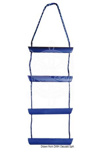 Temporary boarding ladder