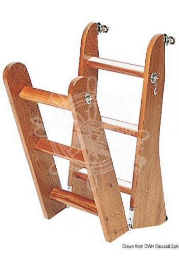 Ladder made of mahogany wood