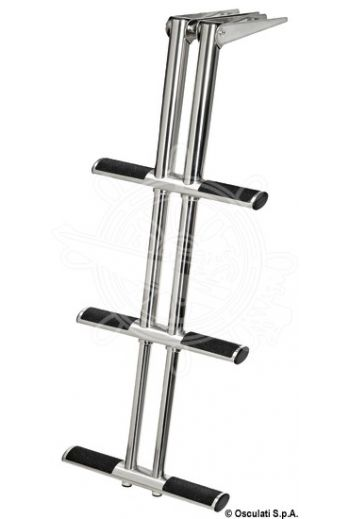 DIVER telescopic ladder for gangplank