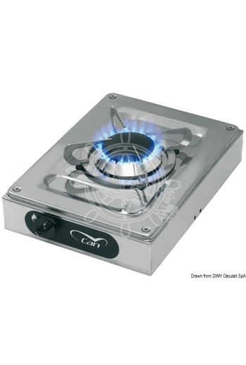 External stainless steel hob units