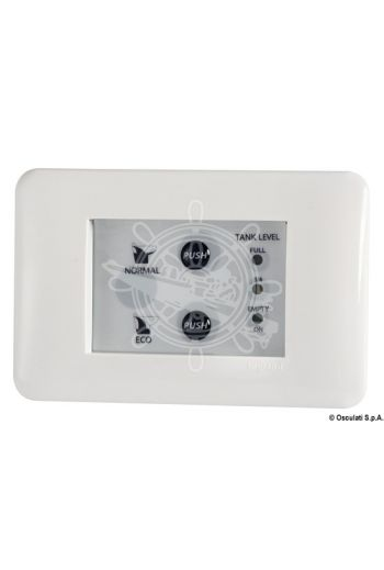 Toilet unit control panel (Measures: 125x80, Measures: 10, For WC: 50.205.12; 50.205.24; 50.206.12; 50.206.24; 50.207.12; 50.207.24; 50.2)