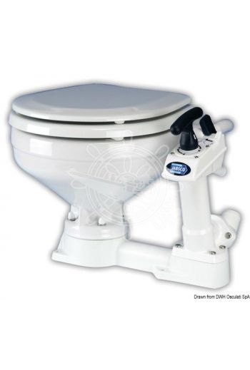 JABSCO manual toilet (Measures: 450x410x340 (H), Weight in kg: 9.3)