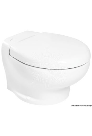 TECMA Nano electric toilet bowl (Model: Nano, V: 12, Measures: 295, Measures: 370, Measures: 446, Weight in kg: 17,6)