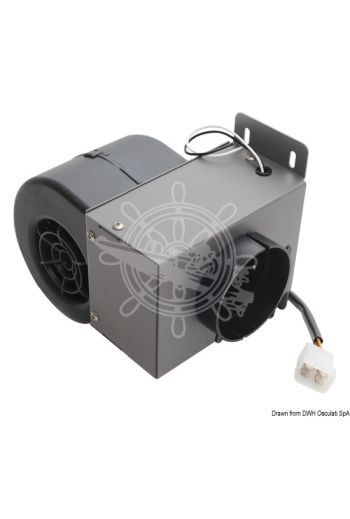 12V defroster/defogger unit (V: 12, BTU/hr: 1.706, No. of speed modes: 1)