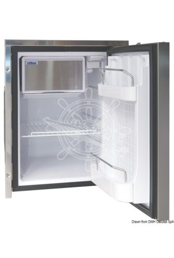 ISOTHERM refrigerator with stainless steel panel - clean touch