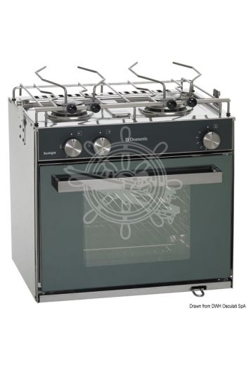 DOMETIC Slim compact gas cooker