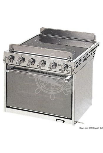 TECHIMPEX Horizon electric kitchen with oven