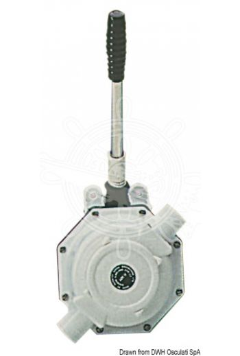 "Hand pump for waste water tanks WHALE (Volume capacity l/min: 56, Ø inlet/outlet: 1"" 1/2 (38 mm))"