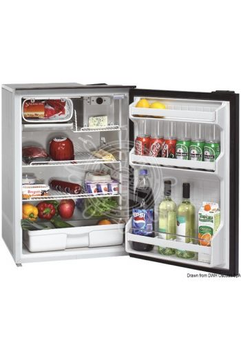 ISOTHERM refrigerator with maintenance-free 130-l Secop hermetic compressor