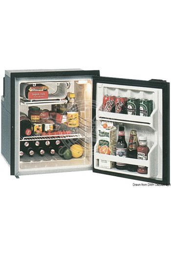 ISOTHERM refrigerator with maintenance-free 65-l Secop hermetic compressor