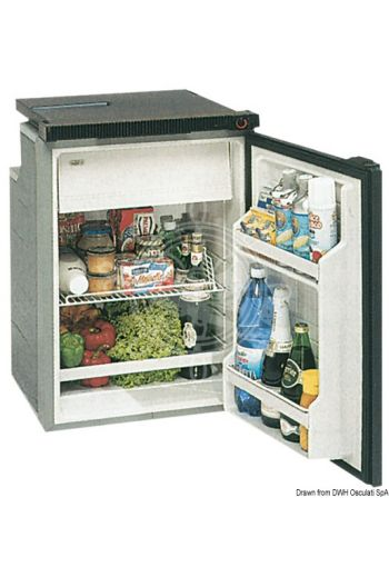 ISOTHERM refrigerator with maintenance-free 100-l Secop hermetic compressor