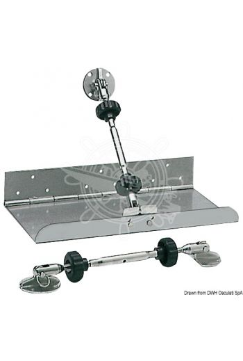 Mechanical kit to operate Trim Tabs (For twin tabs: 51.134.01; 51.134.02; 51.134.03; 51.134.04)