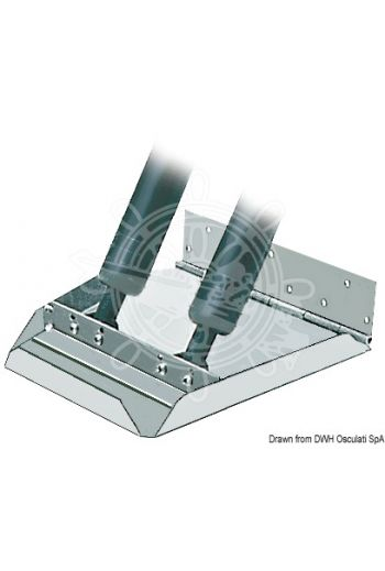 Pair of HS series trim tabs suitable for hulls over 40-knot speed