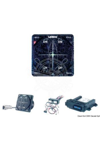 LENCO AutoglideTM automatic trim tab control device