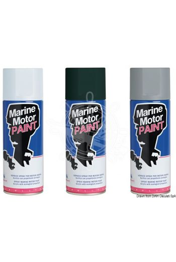 Antifouling spray paint for feet and propellers
