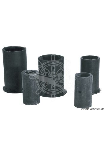 Shaft line bushings made of rubber. External/internal version in millimetres
