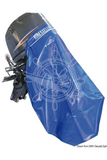 Thermo-welded water-proof engine cover