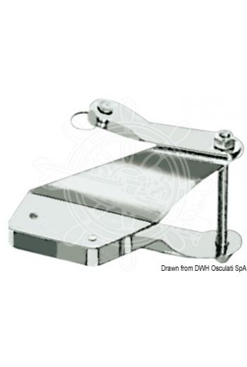 Masthead plate (Suitable for boat size: from m 3,5 to m 4,5)