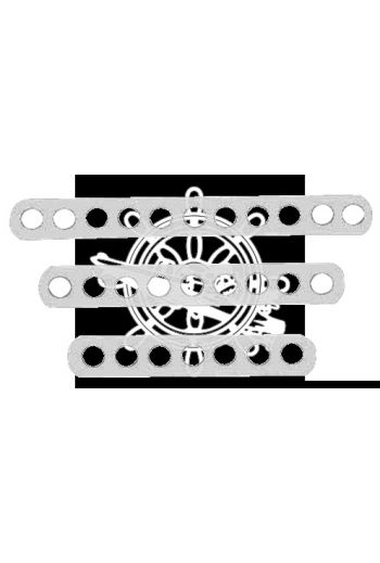 Hollow chain plates