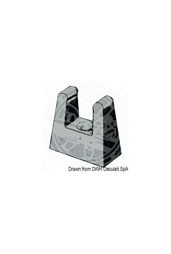 Tiller extension retaining clip
