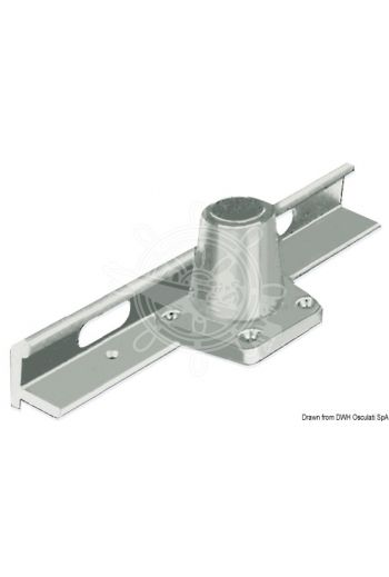 Stanchion base for Toerail