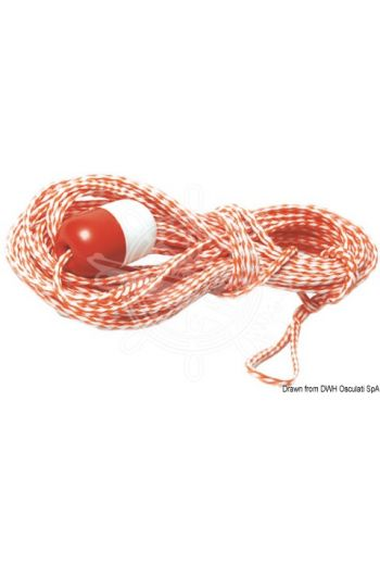 Tow rope for inflatables (Length m: 18, Ø mm: 7,5)
