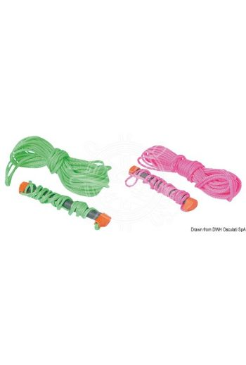 """Water-ski tow rope """"Fluo"""" (Ø mm: 7,5, Length m: 21,7)"""