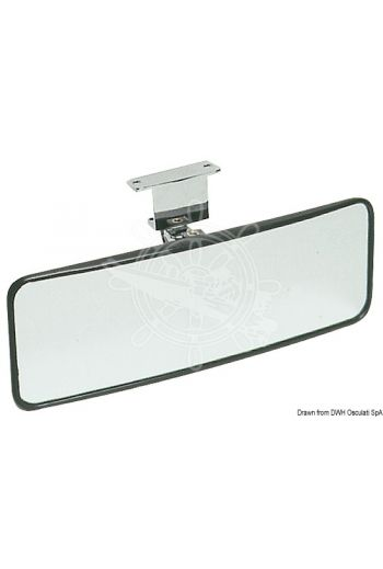 Adjustable water-skiing mirror (Measures: 100x300 mm)