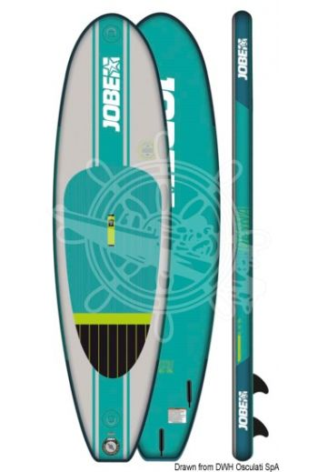 SUP JOBE Aero Desna 10.0 Package (Measures: 305x81,3x10, Volume l: 200, Pressure Psi: 20, Weight in kg: 8)