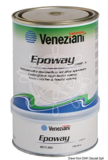 VENEZIANI Epoway primer (Color: White, Yield: 5 m2/l, Package: 0,6 l)