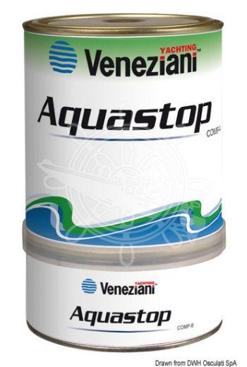Aquastop coating (Color: Transparent light blue, Yield: 5 m2/l, Package: 0.75 l)