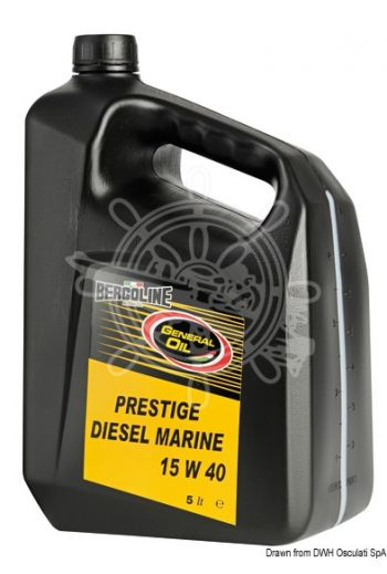 BERGOLINE - GENERAL OIL Prestige Diesel Marine 15W40 (Package: 5 l)