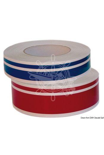 2-stripe waterline (Variante: Brick red, Height mm: 34, Roll: 10 m)