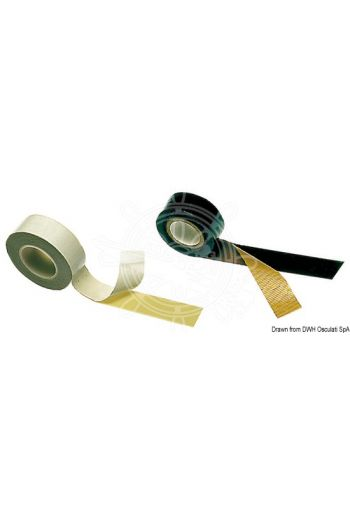Self-amalgamating PVC tape
