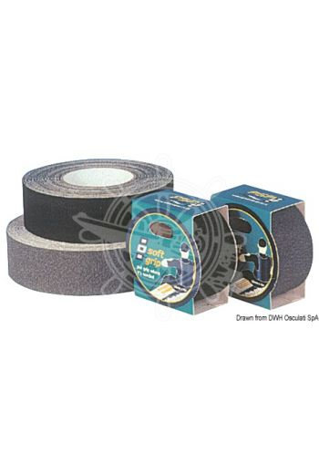PSP MARINE TAPES Soft-grip special tape (Color: grey, Roll: 50 mm x 4 m)