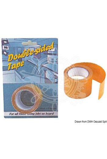 PSP MARINE TAPES heavy-duty bi-adhesive tape (Roll: 50 mm x 5 m)