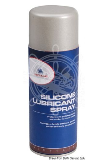 Heavy-duty silicone spray (Package: 400 ml)