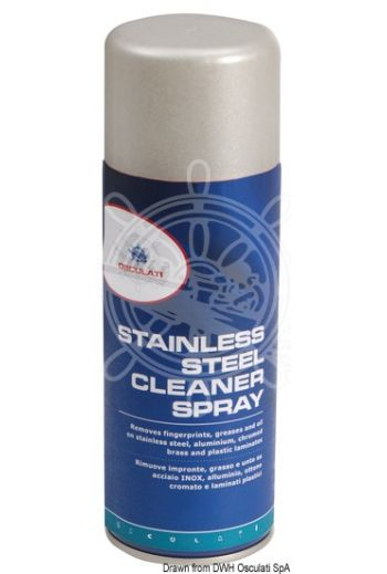 Stainless steel cleaner spray (Package: 400 ml)