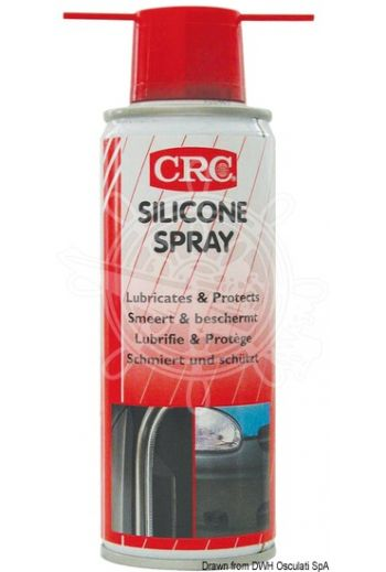 CRC Marine Silicone (Spray can: 200 ml)