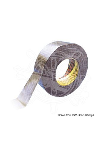 3M Y389 Waterproof Cloth Tape (Grey Tape) (Color: silver, Roll: 50 mm x 25 m)