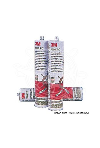 3M 5200FC Marine Sealant adhesive (Package: 296-ml cartridge, Color: white)
