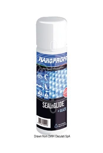 Sealnglide NANOPROM - single treatment for cruising and regatta sails (Package: 500 ml, Quantity for: 30/40 m2 (jib and mainsail) - 50/80 m2 (spinnaker, surf sail))