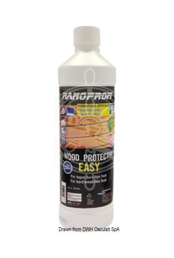 NANOPROM Wood Protector (Enough to coat: 4.5/6.5 m2, Package: 500 ml)
